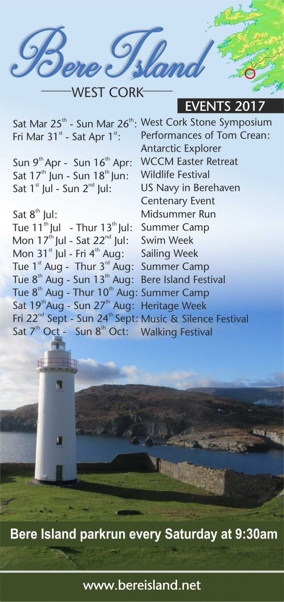 Bere Island Events 2017