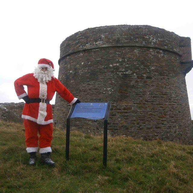 Santa at Cloughland Tower