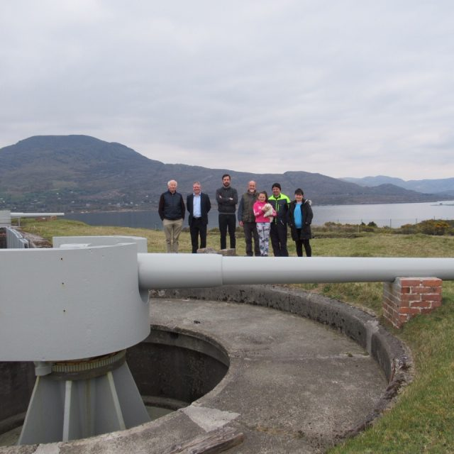 Minister Eoghan Murphy TD visit to Lonehort Battery