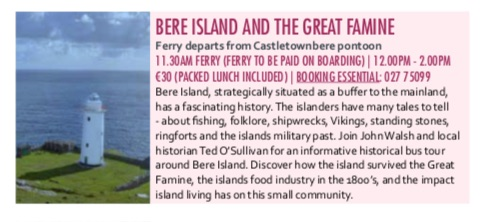 Taste of West Cork - Bere Island