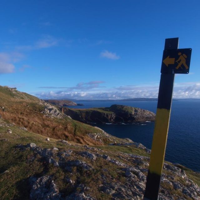 Ardnakinna Lighthouse Loop Walk, Bere Island.