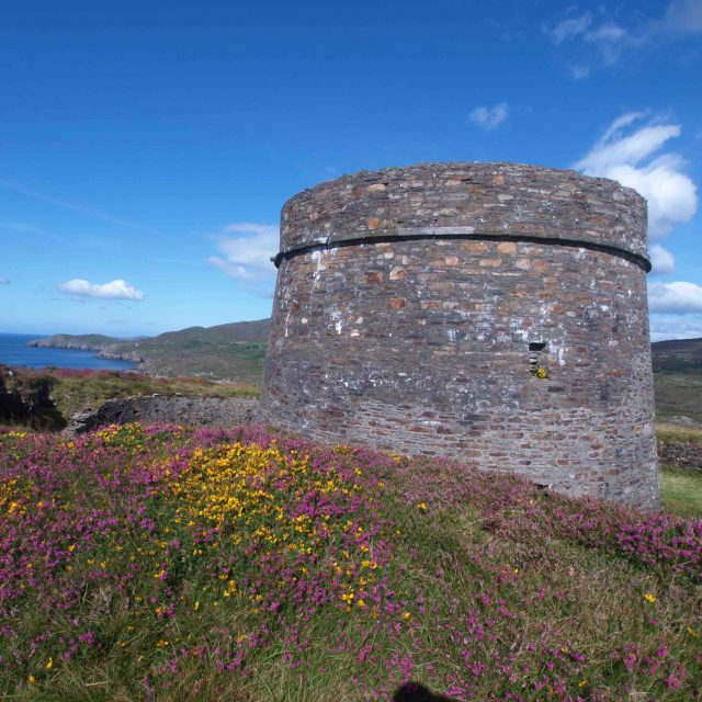 Cloughland Martello Tower, Bere Island