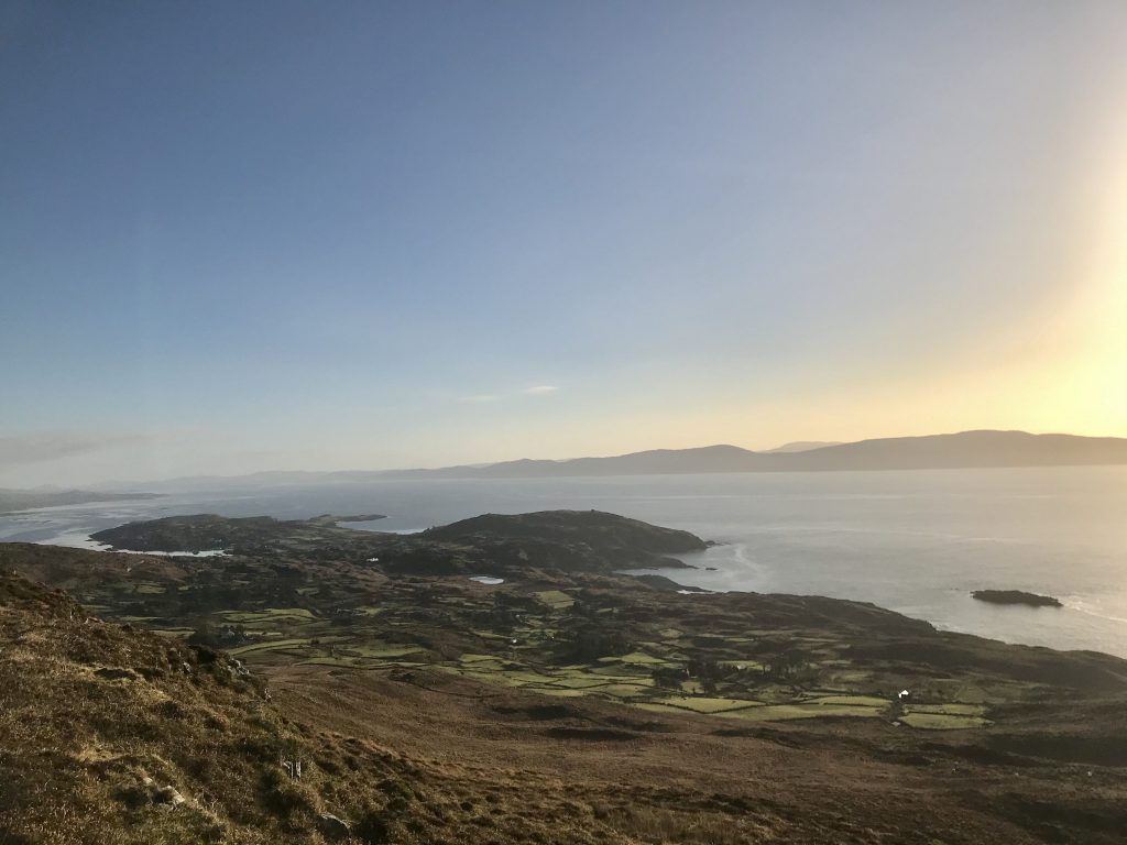 View from the highest point of Bere Island