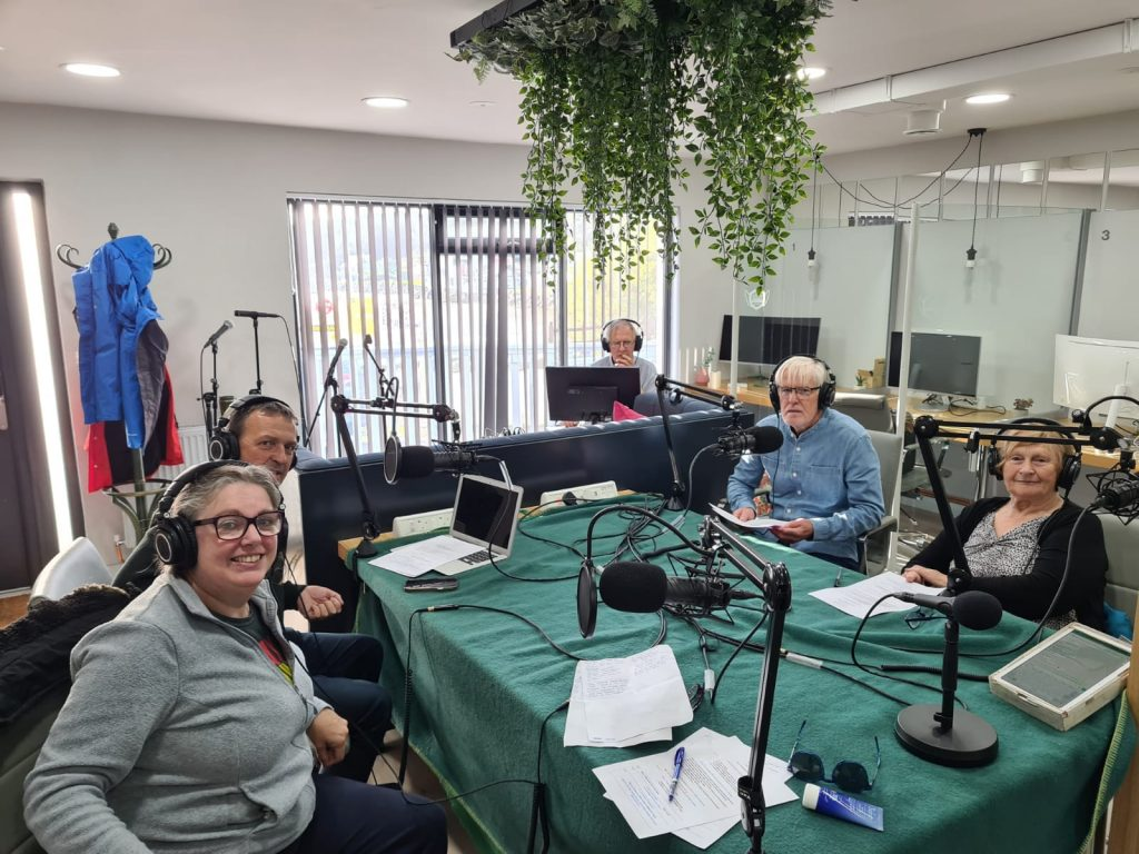 Bere Island Community Radio broadcasting live from Aranmore Island, Co Donegal.